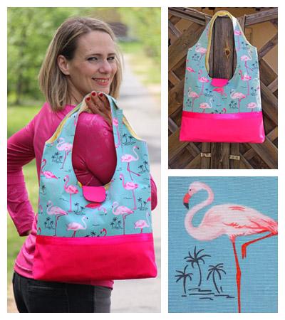 Flamingo táska fotó